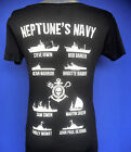 New to eBay Ladies  Sea Shepherd fleet, ships, Neptune's Navy Black T-shirt