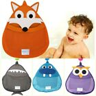 Kids Baby Bath Toys Tidy Storage Suction Cup Bag Cute Cartoon Bathroom Organiser