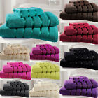 Hand Bath Towel Egyptian 100% Premium Cotton Towels - Quality Yarn Satin Stripe
