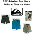 Внешний вид -  NEW QUIKSILVER Boy's Hybrid Flat Front Shorts! Variety of Sizes and Colors!