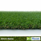 Maine 30mm Artificial Grass, Quality Astro Turf, Cheap, Realistic Lawn Natural