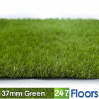 Artificial Grass, Quality Astro Turf, Cheap, Realistic Natural 37mm Green