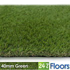 Artificial Grass, Quality Astro Turf, Cheap, Realistic Natural Garden 40mm Green