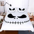 DisneyThe Nightmare Before Christmas Jack Skellington Face Duvet Cover Bedding