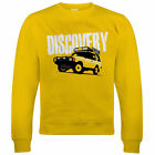 Discovery, Mens Off Roading Sweatshirt, Christmas Gift for Dad Him Fathers Day