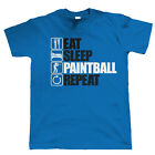 Eat Sleep Paintball Repeat, Mens Extreme Sport T Shirt, Christmas Gift Dad