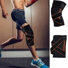 3D Sports Knee Support Sleeve Wrap Compression Brace Protector Jogging New EF WS