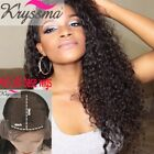 Brazilian Curly Human Hair Lace Front Wigs Silk Base Wigs Glueless Full Lace Wig