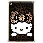 Hello Kitty Big Leopard Printed Soft Silicone Case Cover For Samsung iPad F13005