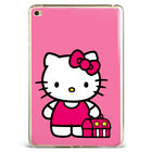 Cute Hello Kitty Pattern Printed Soft Silicone Case Cover For Samsung Ipad Hk-22