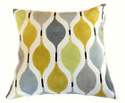 NEW VERVE MIMOSA YELLOW GREY CONTEMPORARY SCATTER CUSHION COVER THROW PILLOW