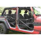Steinjager Tube Doors Front and Rear set Jeep JK 2007-2017  Variety of colors