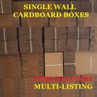 QUALITY SINGLE WALL CARDBOARD BOXES POSTAL MAILING PACK FAST & FREE P+P