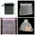 "10 20 50 Large Drawstring Organza Jewelry Pouches Party Gift Bag Bags 8.6""x12.6"""