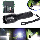 Torch Glare 5Modes Flashlight Zoomable XM-L T6 1PC Rechargeable LED Portable TH