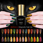 magnetic shining color nail gel soak off