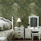 10M European Style Environmental 3D Non-wovens Flocking Bedroom Wallpaper 5.3㎡