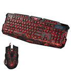 Breath Backlight Gaming Wired 2.4G Keyboard and Mouse Set For PRO Computer Gamer