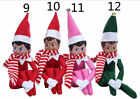 Boy & Girl Figure Christmas Novelty Elf On The Shelf Plush Toys Gift for Kids &