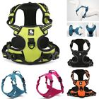 No-pull Dog Harness Reflective Outdoor Soft Mesh Padded Adventure Pet Vest 3M US
