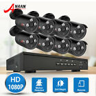 ANRAN 4CH/8CH HD 1080p POE IP NVR Kit 2.0MP Outdoor Home Security Camera System
