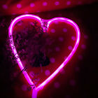 Us Love Neon Glass Art Sign Visual Artwork Wall Decor Night Light Bar Party Club