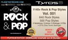 1140+ NEW ROCK & POP YAMAHA STYLES + OTS SFF2 FOR TYROS 3 TOP PSR-S975 S970 S950