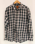 "Vintage ST JOHNS BAY Shirt Cotton check Flannel Lumberjack - 46"" XL(26705)"