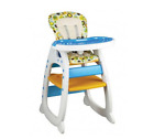 Chair Baby High Feeding Toddler Seat Infant Safety Folding Food Tray Portable