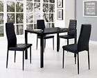 2017 NEW Set of 4/8 Exquisite Design Leather Contemporary Dining Chairs Home Room