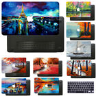 "Hard Rubberized Oil Painting Case Cover For Macbook Pro 13""15""Touch Bar Air 11"""