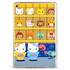 Cute Hello Kitty Couple Print Soft Silicone TPU Case Cover For Samsung iPad DP41