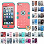 Apple iPod Touch 5th 6th Gen Heavy Duty Hybrid Dual Layer Impact Shock Case