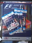 2000 Indianapolis Formula 1 Program VF/NM + Tickets + All Literature