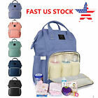 US LAND Mummy Maternity Nappy Diaper Bag Large Capacity Baby Bag Travel Backpack