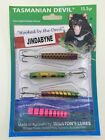 Tasmanian Devil fishing lures packs of 4 @ Tackle World Sale