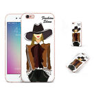 Fashion Show Charming Lady Pattern Phone Case Cover For iPhone Samsung LG RW9