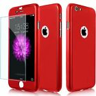 Hybrid 360° New Shockproof Case Tempered Glass Cover For Apple iPhone 5s