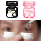Mini Contact Lens Storage Case Box with Tweezer Container Travel Kit Holder