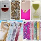 Glitter 3D Dynamic Colorful Moving Flow Liquid Quicksand Case Fits Samsung S6,S5