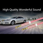 3.5mm AUX AUXILIARY CORD Male Male Stereo Audio Cable for PC iPod CAR AUDIO 3FT
