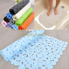 Top Quality Large Strong Suction Anti Non Slip Bath Shower Mat Stone Shape UK