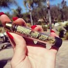 Twisty Glass Tube Blunt 7 PIPE Dry Herb Pipe Grinder Filter Herbal Aromatherapy