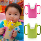 Baby Toddler Child Self-Helper Milk Juice Water Drinking Container Cup Holder