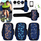 Jogging Gym Armband Sports Running Arm Band Case Cover Bag For Cell Phone 5.5""