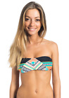 Rip Curl Sun Warrior Bandeau Bikini Top for Women Multicolor Planet (Z19-23)