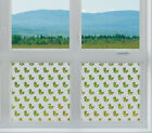 Etched Glass Window Film FROSTED EFFECT DUCKS modern contempory home bathroom