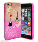 Protective Hard Frame Bumper Hybrid Rubber Case Cover Skin for iPhone 6/6S Paris
