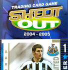 SHOOT OUT 2004 - 2005 Blue Back football cards (Team Sets of 18) - VARIOUS