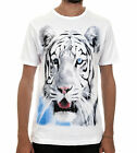 WHITE TIGER / Men, White, T-Shirt